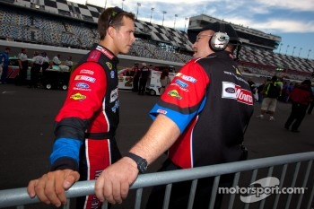 Trevor Bayne, Wood Brothers Racing Ford with crew chief Donnie Wingo