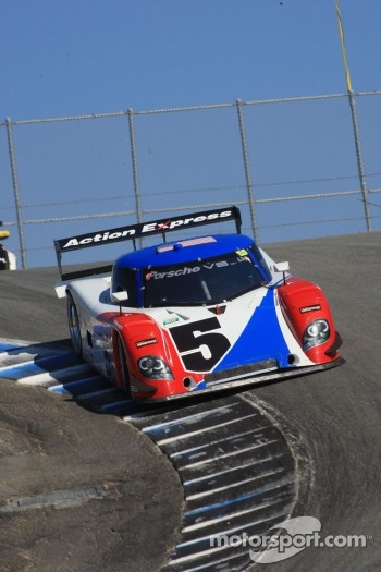 #5 David Donohue, Darren Law Porsche-Riley Action Express Racing