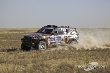 Alexandr Mironenko and Sergey Lebedev, Monster Energy X-Raid Team