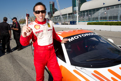 Pole winner #77 Ferrari of Silicon Valley Ferrari 458 Challenge: Harry Cheung