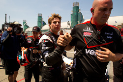 Pole winner Will Power, Team Penske celebrates