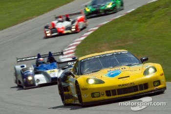 Oliver Gavin and Jan Magnussen, Chevrolet Corvette C6 ZR1