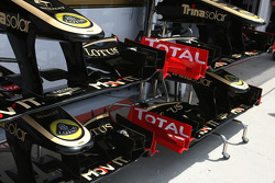 Lotus Renault GP, Technical detail, front wing