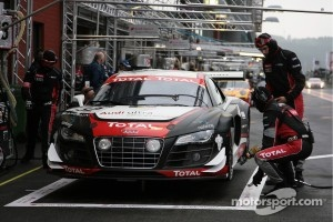 #32 Audi Sport Team WRT Audi R8 LMS: Filipe Albuquerque, Bert Longin, Stéphane Ortelli