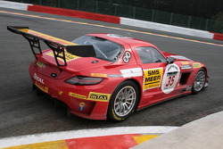 #35 Black Falcon Mercedes SLS AMG: Kenneth Heyer, Thomas Jäger, Stéphane Lemeret