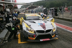 Marc VDS Racing Team BMW Z4 GT3: Marc Hennerici, Maxime Martin, Bas Leinders