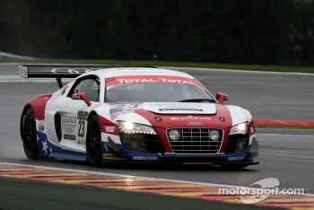 #23 United Autosports Audi R8 LMS: Richard Dean, Zak Brown, Johnny Herbert, Stefan Johansson