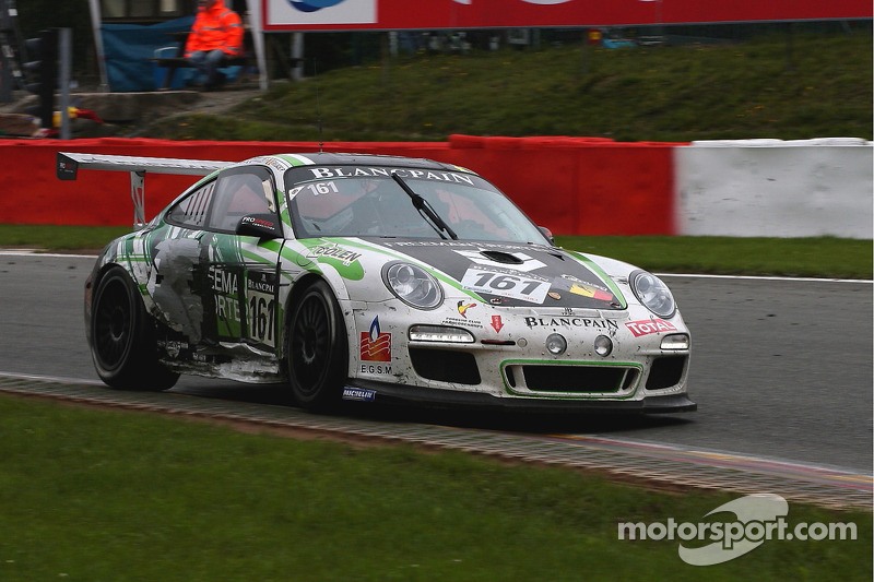 #161 Freeman Gepa 161 Porsche 997 GT3 Cup: Pascal Muller, Didier Grandjean, Dominique Sandona