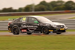 ITV Commentator Ben Edwards in James Nash Vectra