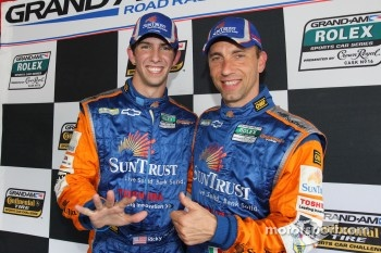 Ricky Taylor, Max Angelelli celebrate DP Pole award