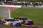 Patrick Carpentier, Pastrana Waltrip Racing Toyota and Boris Said, Chevrolet battle