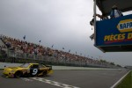 Marcos Ambrose, Petty Motorsport Ford takes the checkered flag