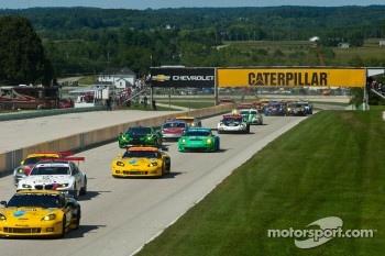 Road America 2011 Race Start