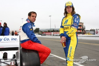 Vitor Meira, A.J. Foyt Enterprises and Ana Beatriz, Dreyer & Reinbold Racing