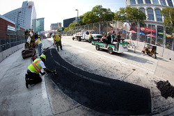 Track is still under construction: the chicane