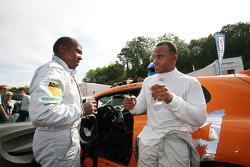 Volkswagen Scirocco R-Cup: guest drivers Nicolas Hamilton and Anthony Hamilton