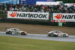 Timo Scheider, Audi Sport Team Abt Sportsline, Audi A4 DTM and Ralf Schumacher, Team HWA AMG Mercedes, AMG Mercedes C-Klasse