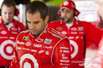 Juan Pablo Montoya, Earnhardt Ganassi Racing Chevrolet with crew chief Jim Pohlman