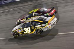 Ryan Newman, Stewart-Haas Racing Chevrolet and Jeff Gordon, Hendrick Motorsports Chevrolet