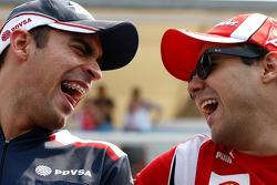 Pastor Maldonado, AT&T Williams, Felipe Massa, Scuderia Ferrari
