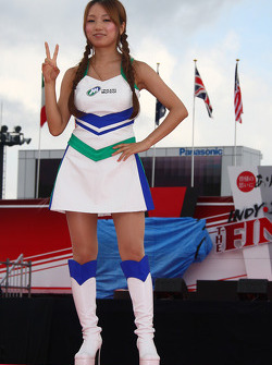 A Twin Ring Motegi girl