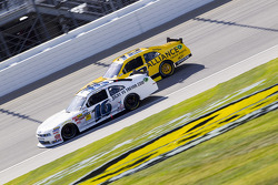 Trevor Bayne and Sam Hornish Jr.