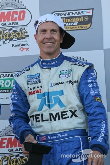 DP podium: second place Scott Pruett
