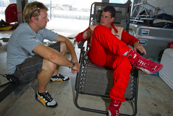 Ryan Dalziel and #22 Ferrari of Ft. Lauderdale Ferrari 458 Challenge: Enzo Potolicchio