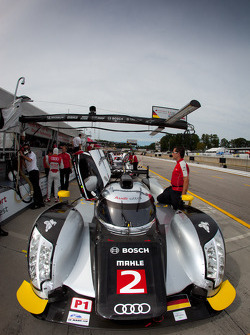 #2 Audi Sport Team Jöst Audi R18: Tom Kristensen, Allan McNish, Rinaldo Capello
