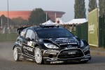 Mikko Hirvonen and Jarmo Lehtinen, Ford Fiesta RS WRC, BP Ford Abu Dhabi World Rally Team