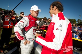 Tom Kristensen and Emanuelle Pirro
