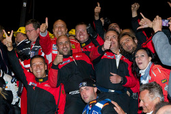 AF Corse team members celebrate