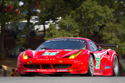 #58 Luxury Racing Ferrari F458 Italia: Ralph Firman, François Jakubowski, David Halliday