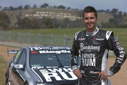 Fabian Coulthard returns to the scene of his spectacular 300km/h accident in last year's Supercheap Auto Bathurst 1000
