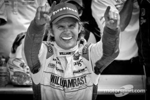 2011 Indy 500 race winner Dan Wheldon.