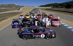 Porsche Cayman InterSeries group photo