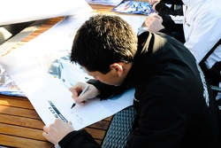 GT3 autograph session