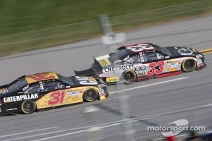 Clint Bowyer and Jeff Burton
