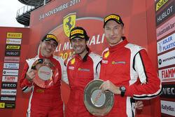 Coppa Shell race 1 podium