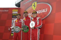 Coppa Shell Ferrari Asia Pacific Challenge race 1 podium