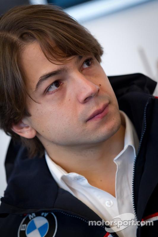BMW Motorsport meet the press: Augusto Farfus Jr.