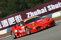 #62 CRS Racing Ferrari F430: Pierre Ehret, Tim Mullen, Roger Wills