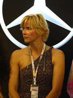 VIP guests of Mercedes