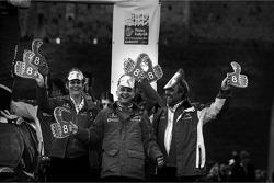 Citroën Total World Rally Team celebrate Loeb's 8 WRC championships