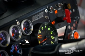 Instrument panel for Carl Edwards, Roush Fenway Racing Ford