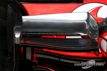 McLaren Mercedes Technical detail front wing