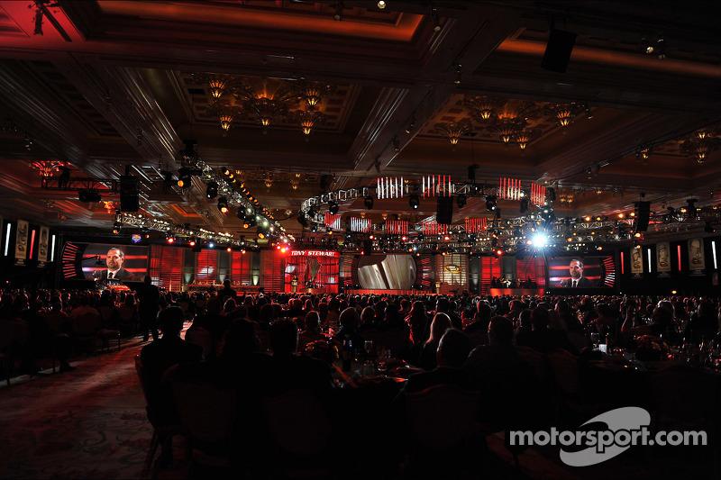 NASCAR awards ceremony