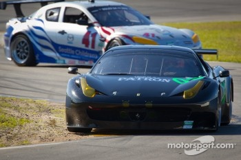 #03 Extreme Speed Motorsports Ferrari 458: Ed Brown, Guy Cosmo, Scott Sharp, Johannes van Overbeek