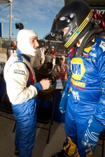 Rui Aguas and Michael Waltrip