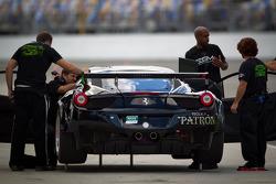 #03 Extreme Speed Motorsports Ferrari 458: Ed Brown, Guy Cosmo, Scott Sharp, Johannes van Overbeek